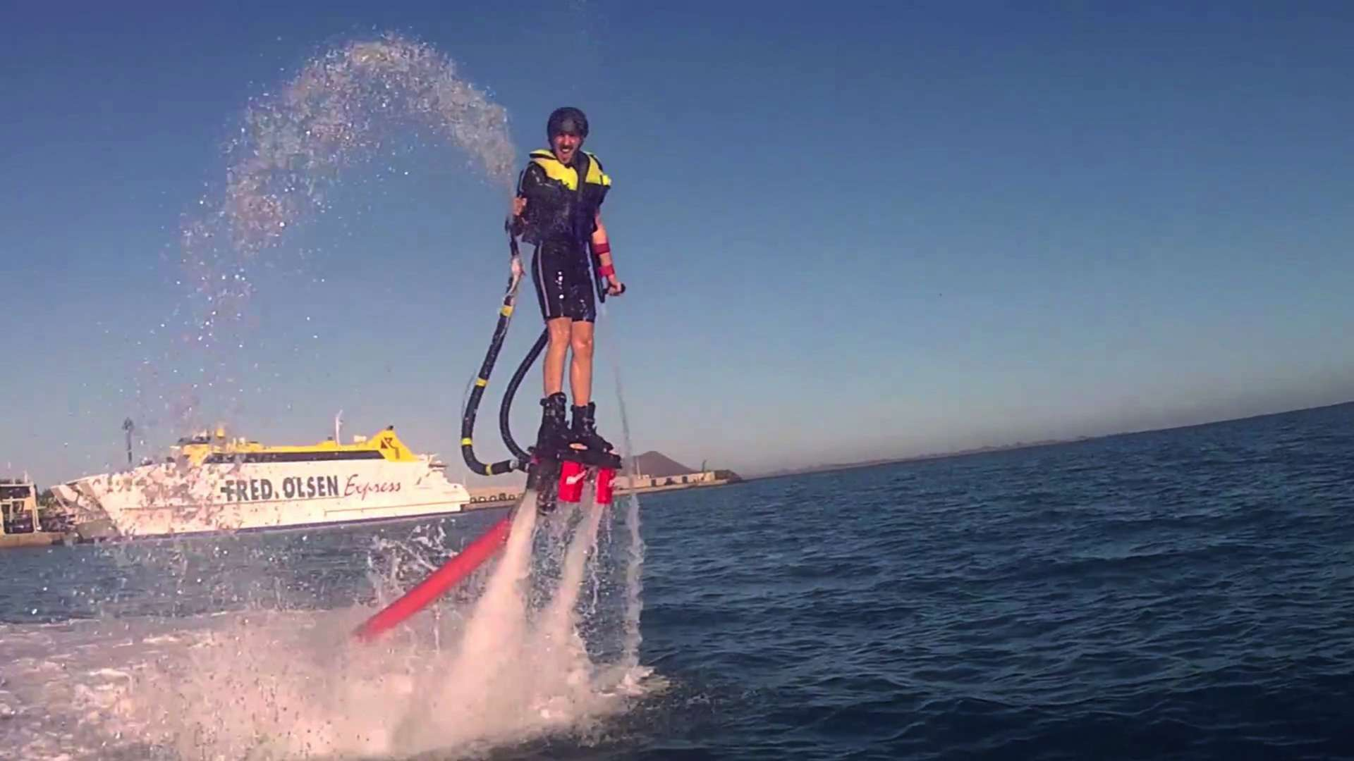 Water Board Sports >> Flyboard, fly above the sea